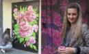 Магия преображения подъездов: как художница в Херсоне украшает спальные районы