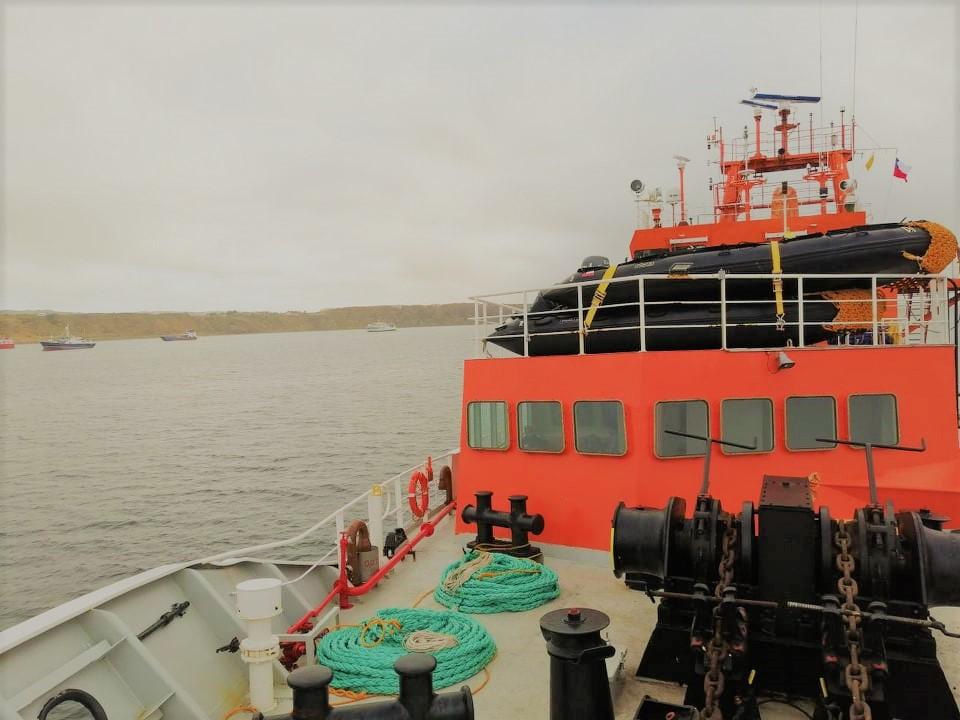 24-а Українська антарктична експедиція повертається додому Америка