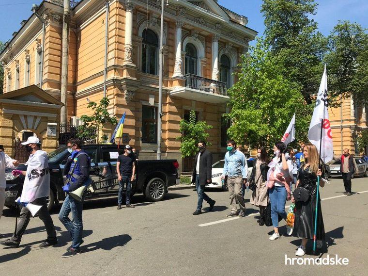 У центрі Києва підприємці знову вимагали послабити карантин