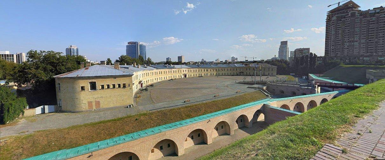 Київська фортеця та Косий капонір