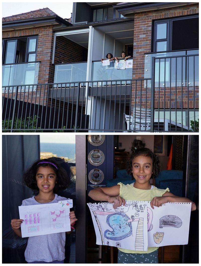 Близнюки Оріана Ікладіос, 8 років, і Рафаела Ікладусіос