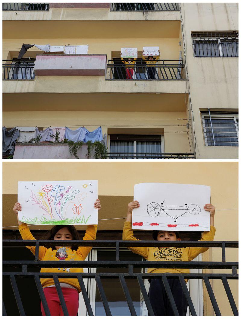 Юсеф Тумі, 6 років, та Міріам Тумі, 4 роки