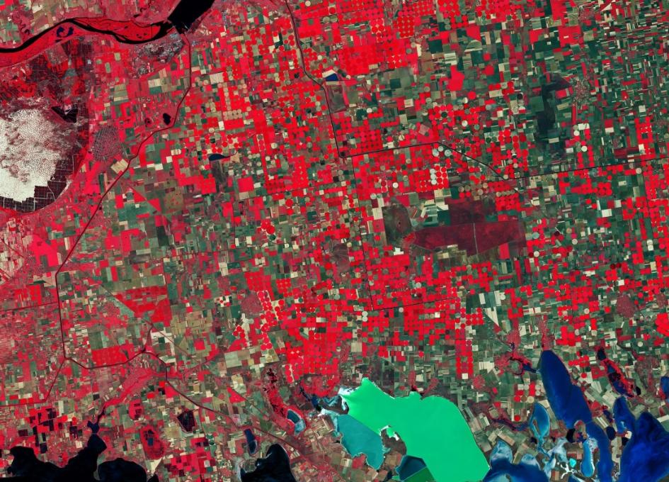 Європейське космічне агентство показало, як з космосу виглядає південь України