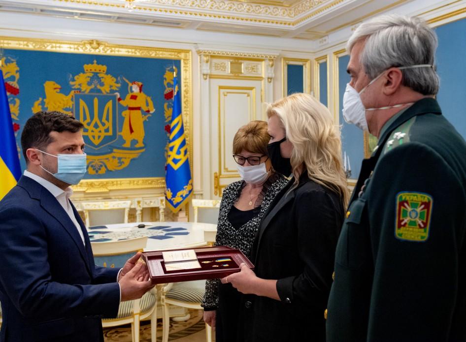 президент ннагородив бійців посмертно