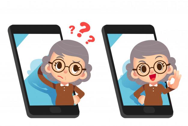 смартфон пенсіонери