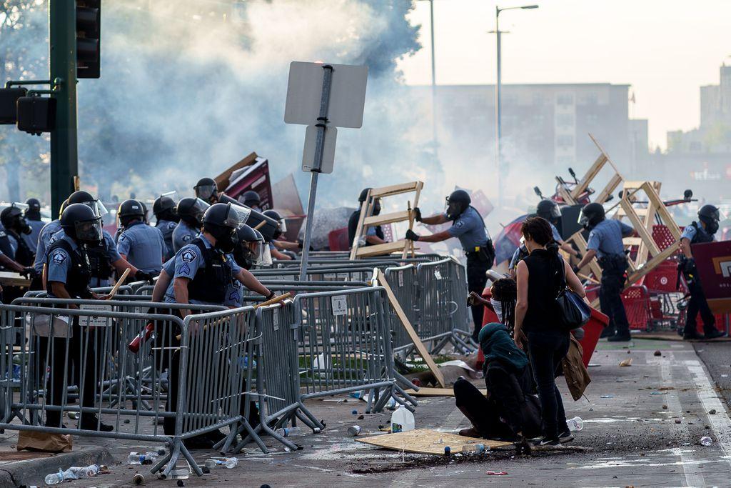 США протести