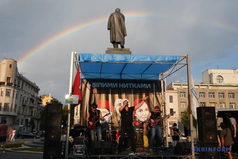 у Харкові проходить концерт на підтримку підозрюваних