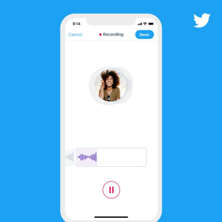 У Twitter тепер можна публікувати голосові повідомлення