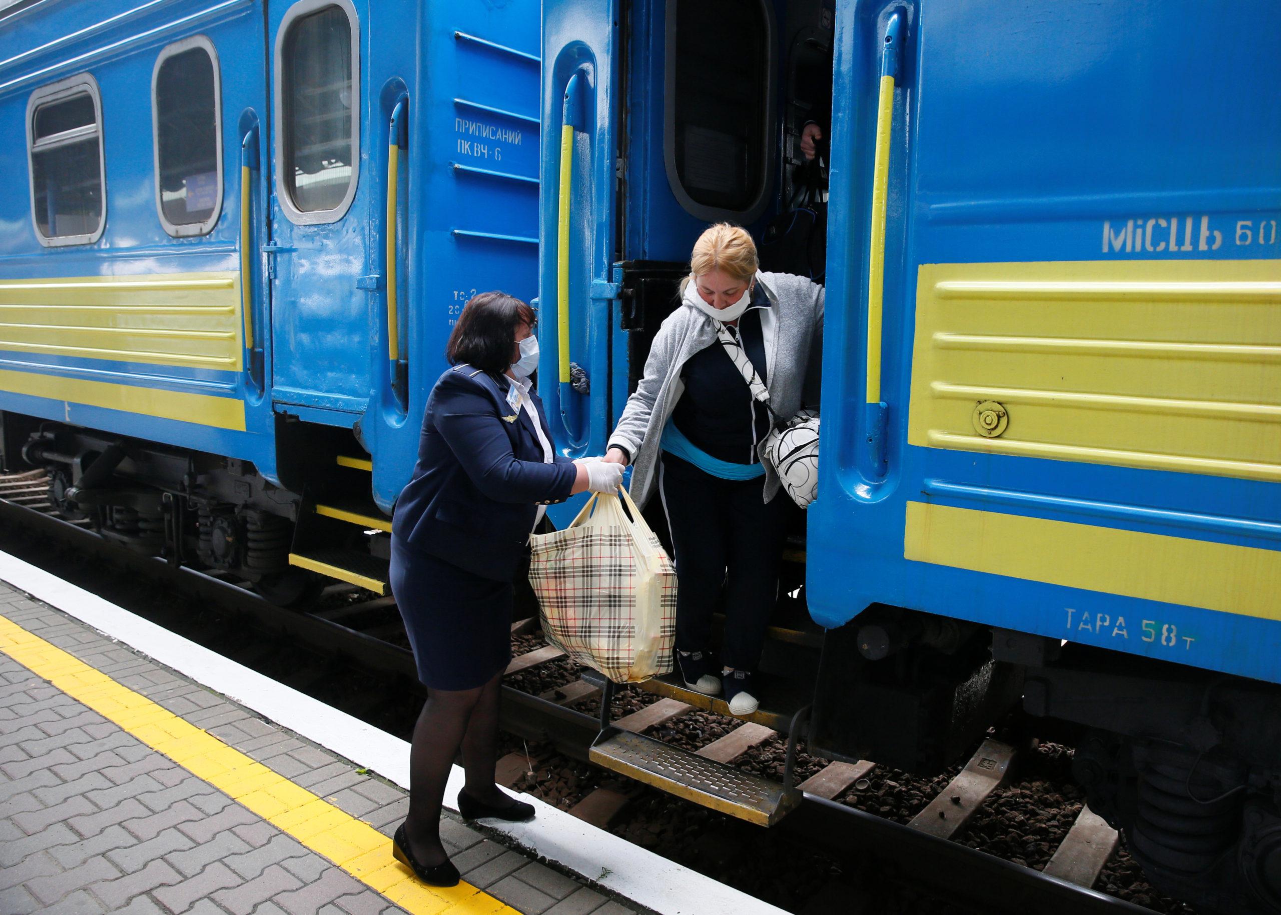 вокзал потяг укрзалізниця