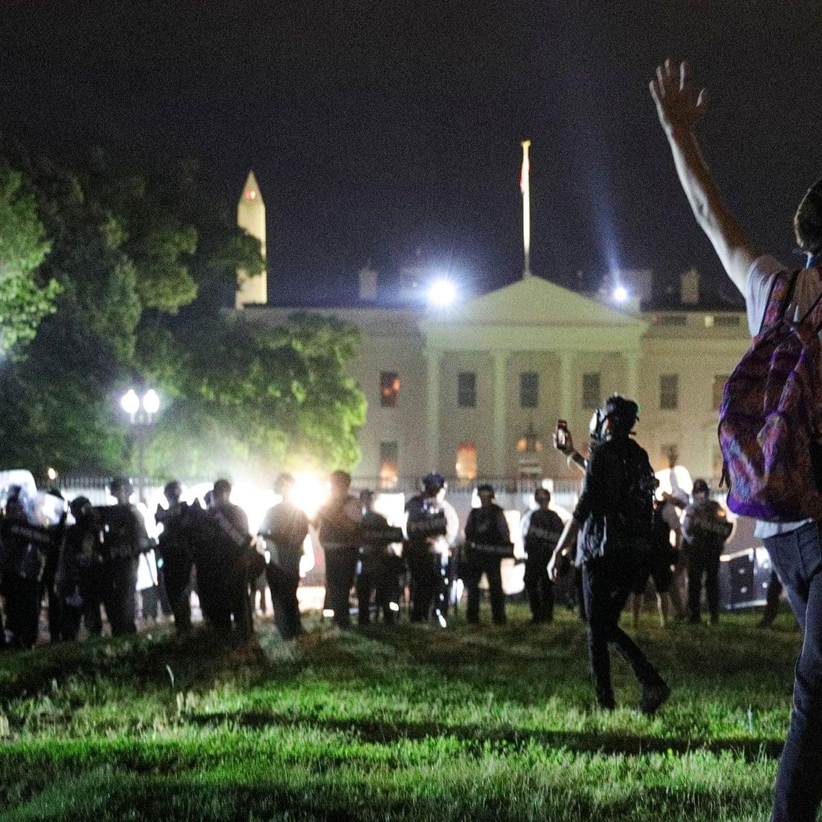 сша протести білий дім