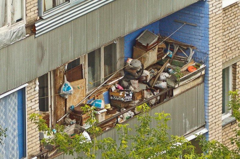 Як навести порядок на балконі