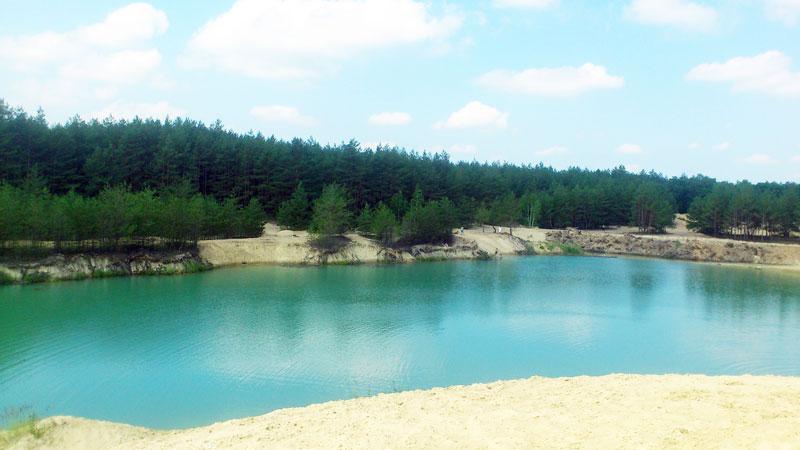 блакитні озера полтавщини