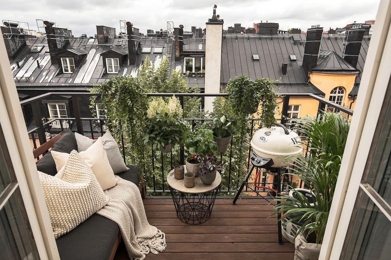 Балкон в Швеції