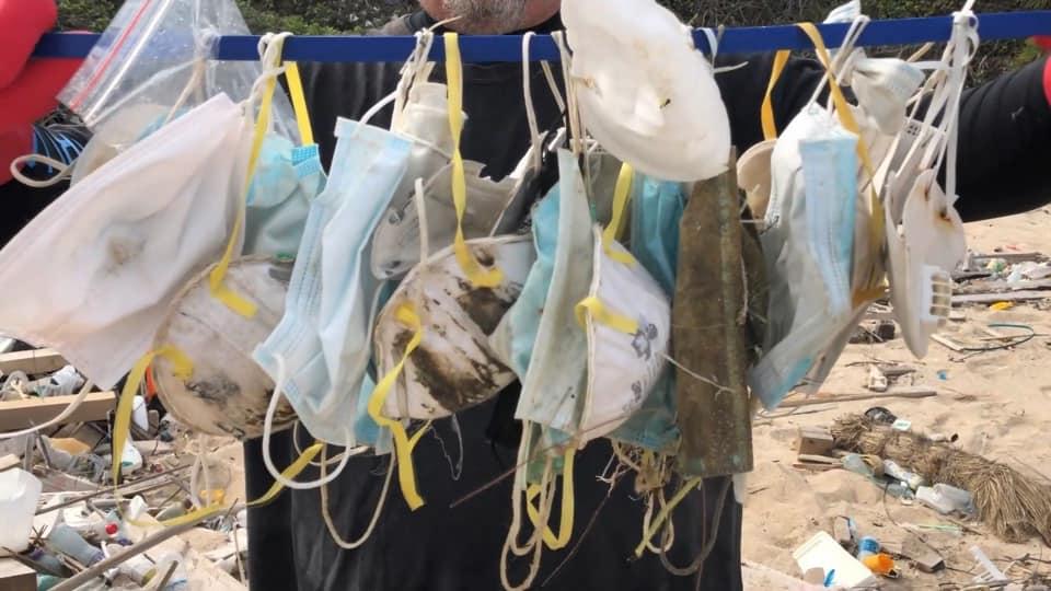 У семи найбільших річках Європи виявили маски і рукавички