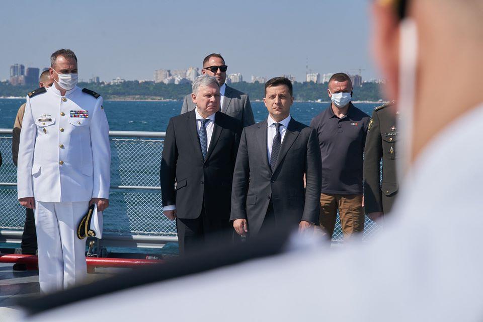 Зеленський підбив підсумки візиту в Одесу