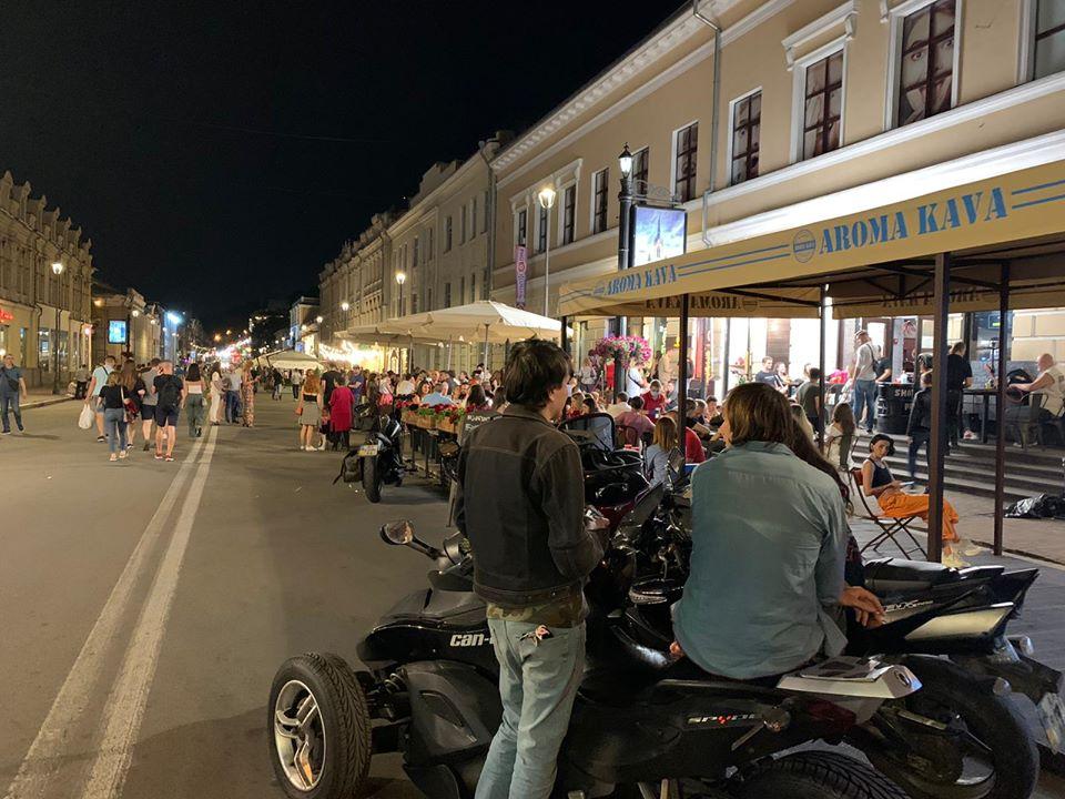 Саакашвілі опублікував фото прогулянки Києвом