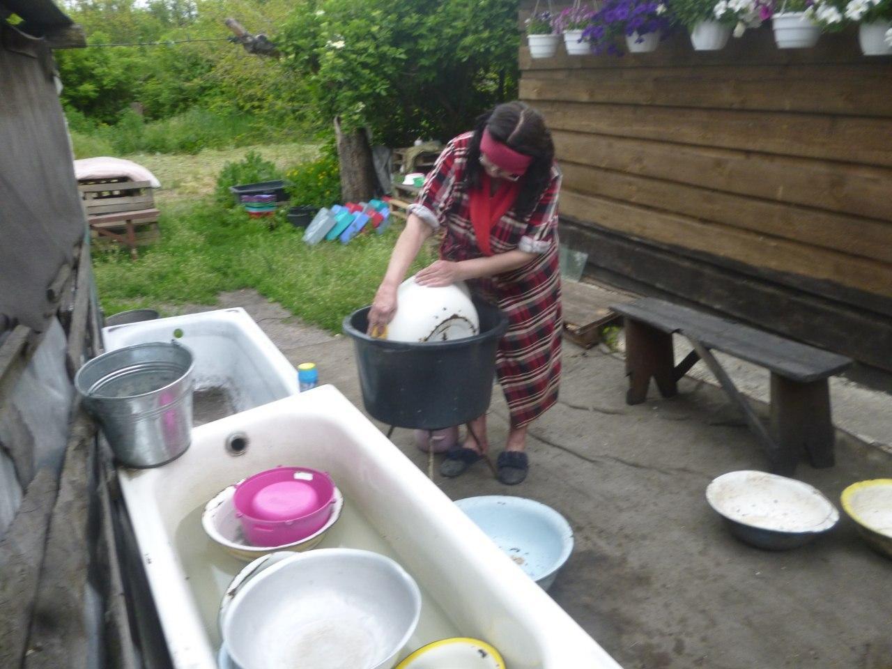 переселенка з Донецька забрала з собою сотню тварин