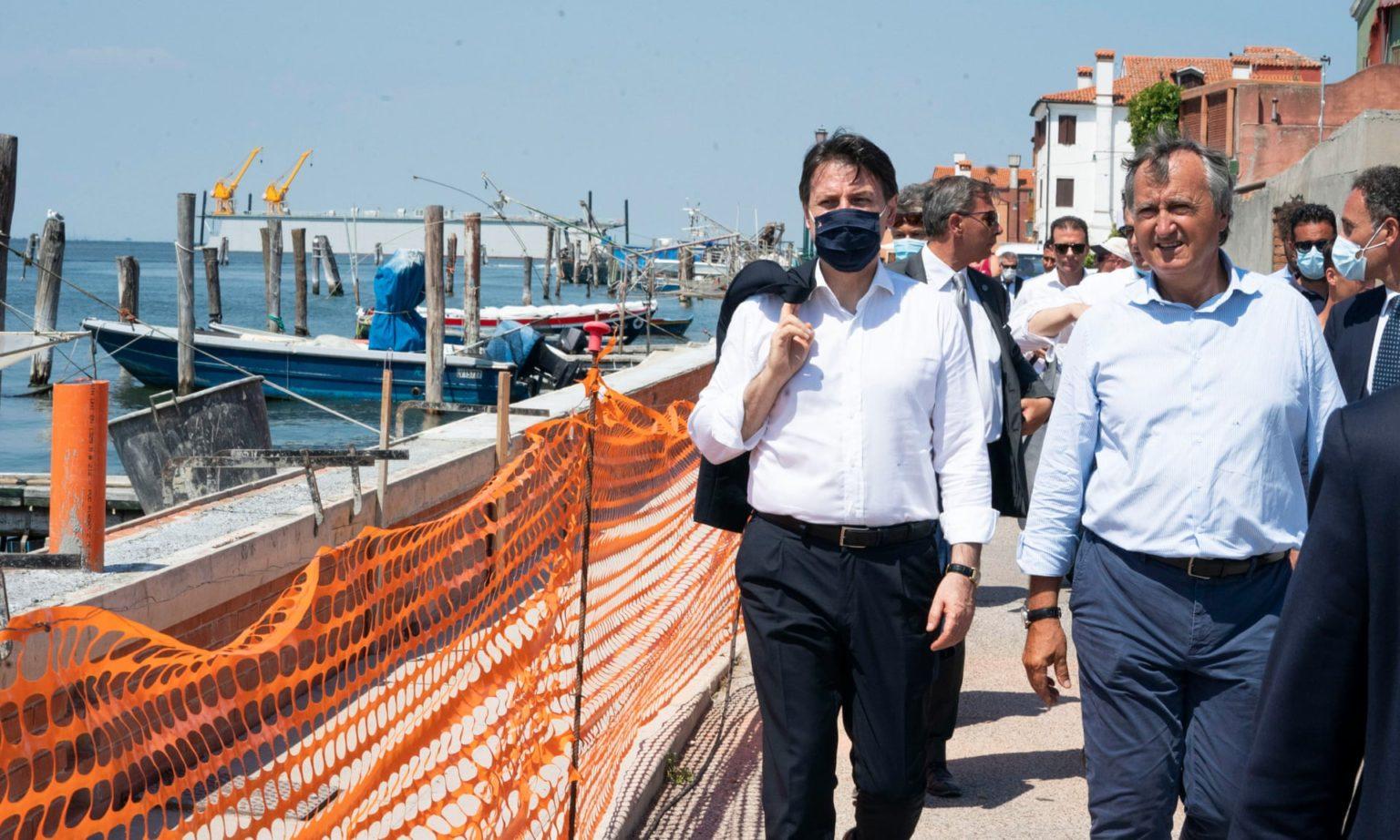 У Венеції вперше протестували шлюзи для захисту від повеней