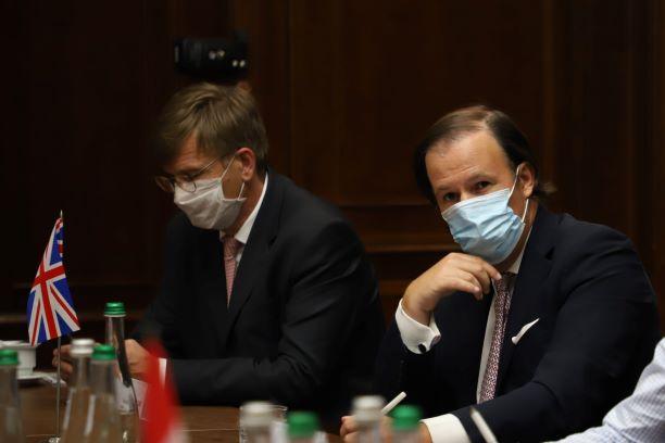 Венедіктова зустрілась з послами країн G7 та ЄС