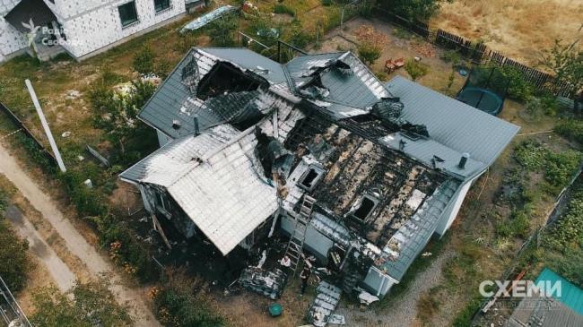 Спалений будинок Шабуніна