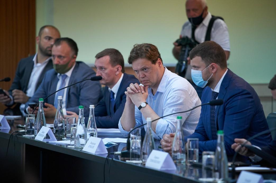 Зеленський на Одещині зустрівся з представниками бізнесу