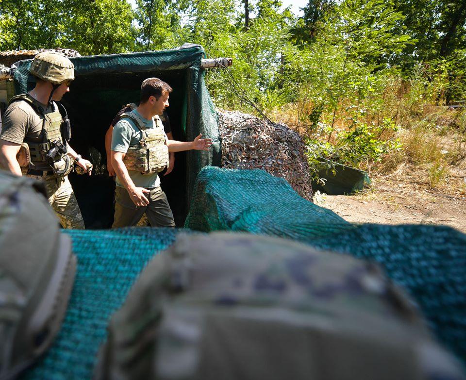 Зеленський перевірив дотримання режиму тиші на Донбасі
