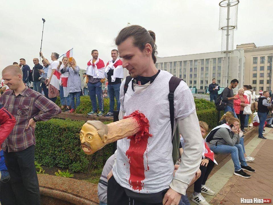 Марш Свободи в Білорусі 23 серпня