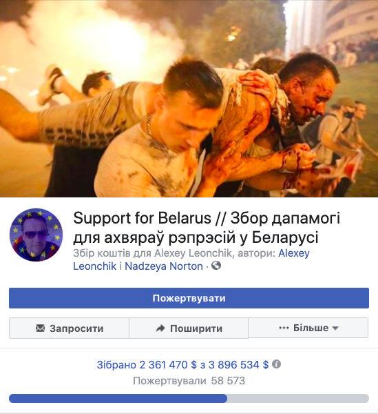 Support for Belarus