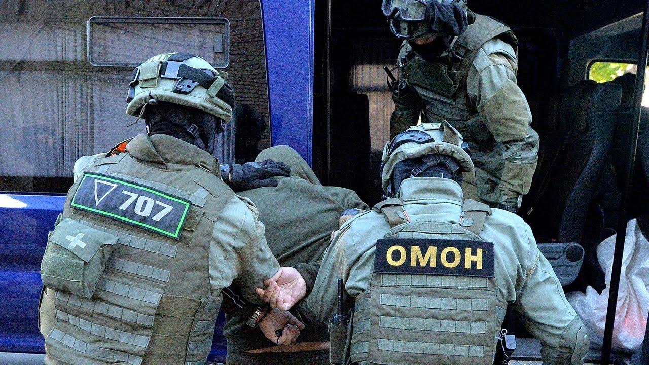 Задержание боевиков ВАГНЕРА в Белоруссии