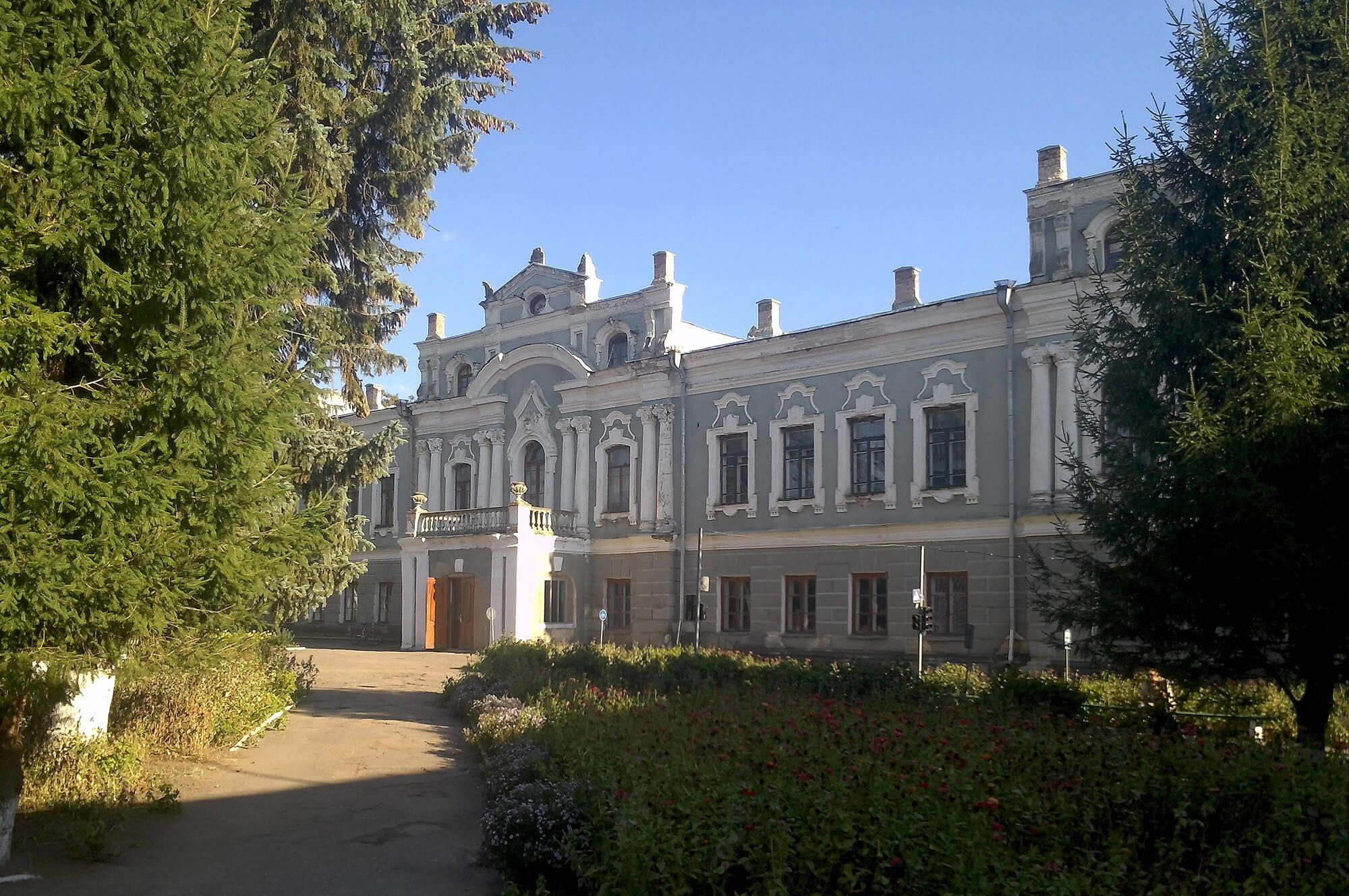 Палац у мавританському стилі