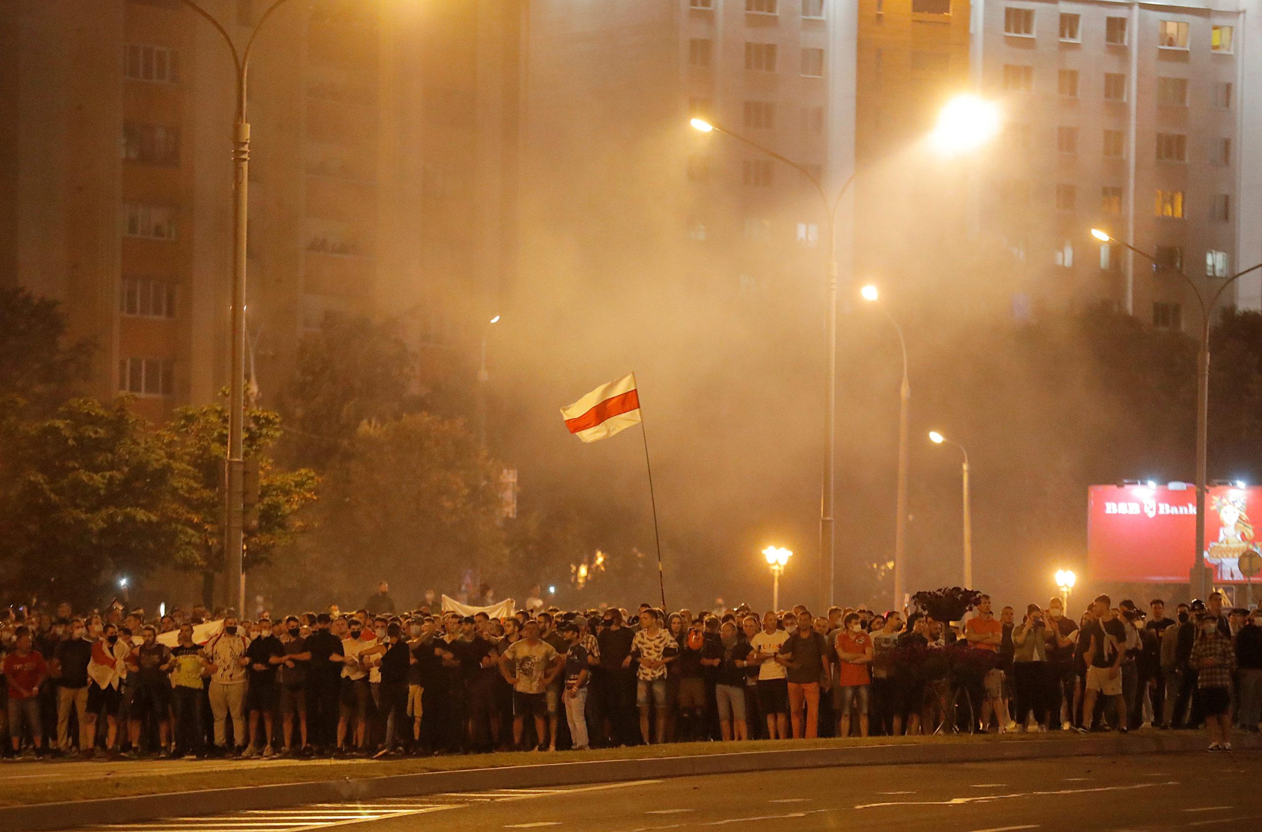 Протести в Мінську 2020