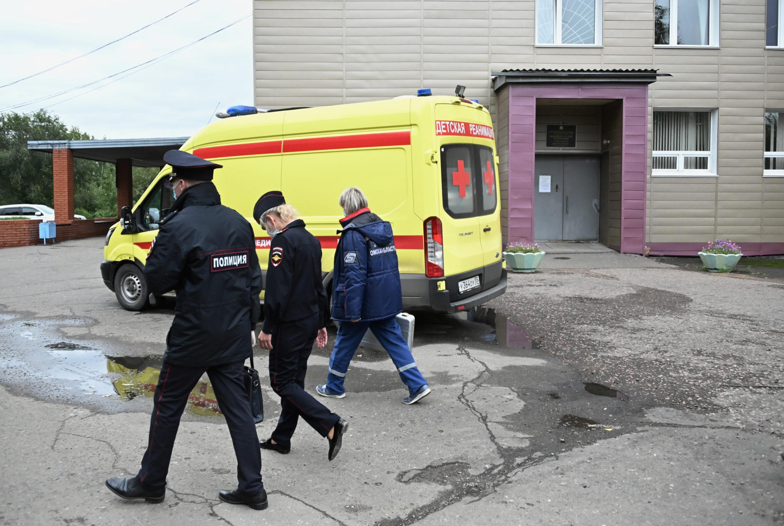 Навальний отравление