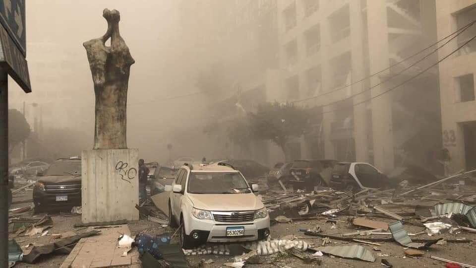 Вибух у Бейруті Ліван