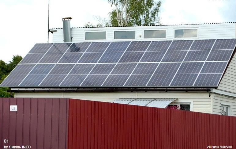 Житель Сумщини власноруч встановив 90 сонячних панелей