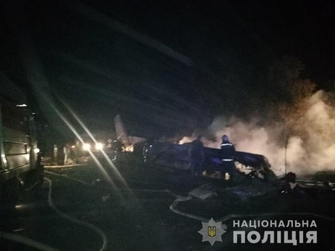 На Харківщині розбився військовий літак