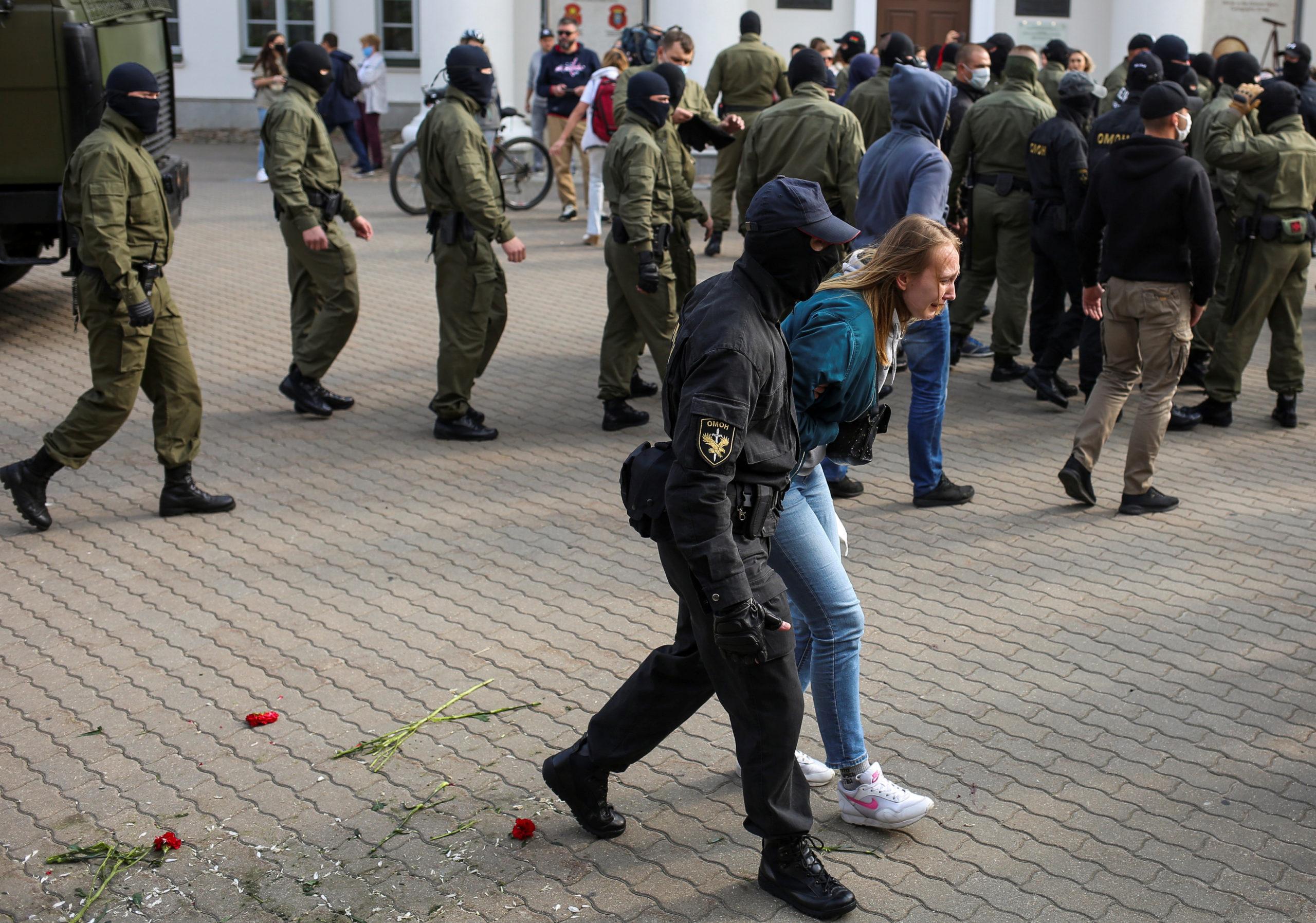 Жіночий марш солідарності у Мінську