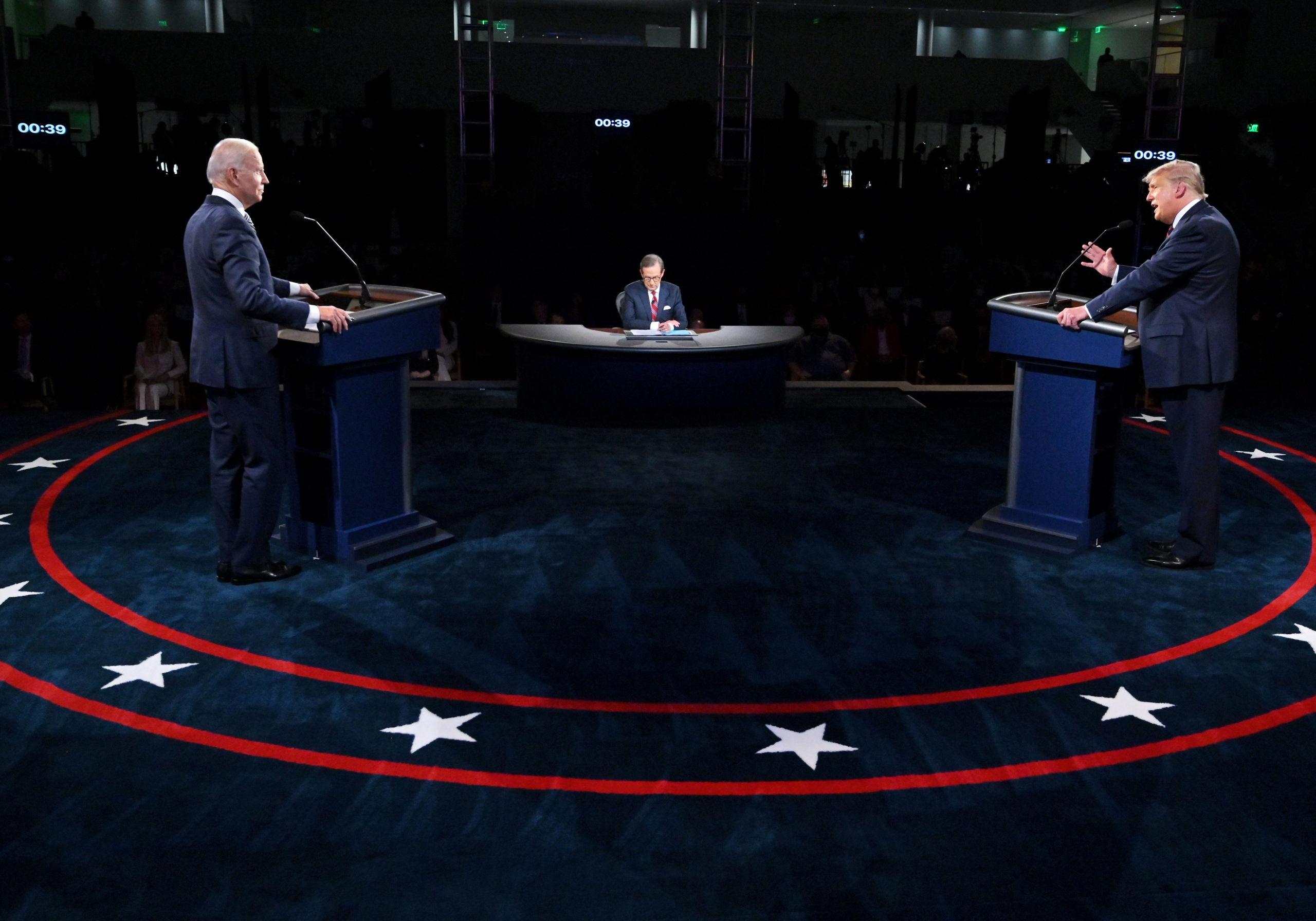 байден трамп дебати
