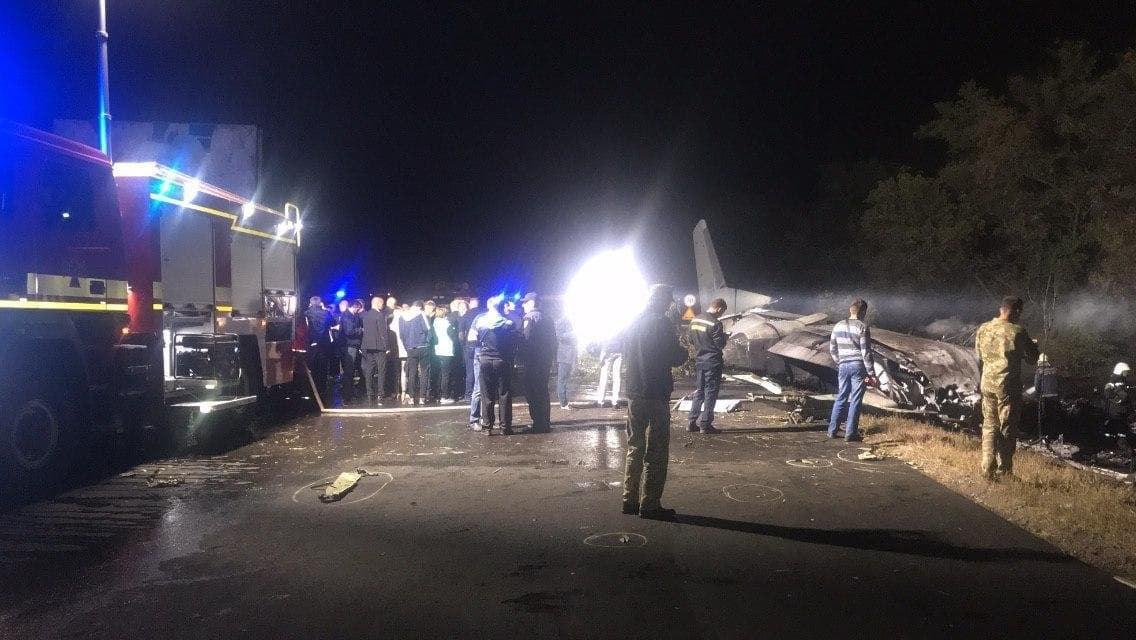 падіння літака Ан-26 на Харківщині