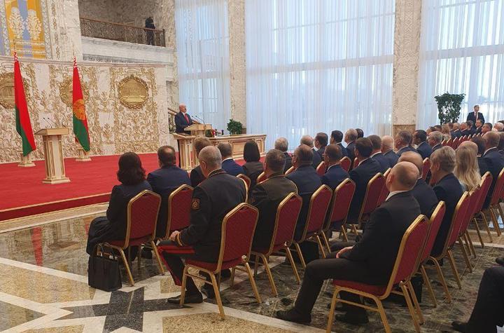 Лукашенко інавгурація