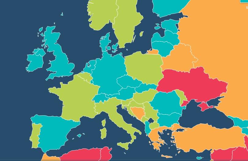 Україна посіла останнє місце за рівнем економічної свободи в Європі