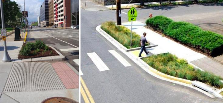 Облаштування антикишень на пішохідних переходах