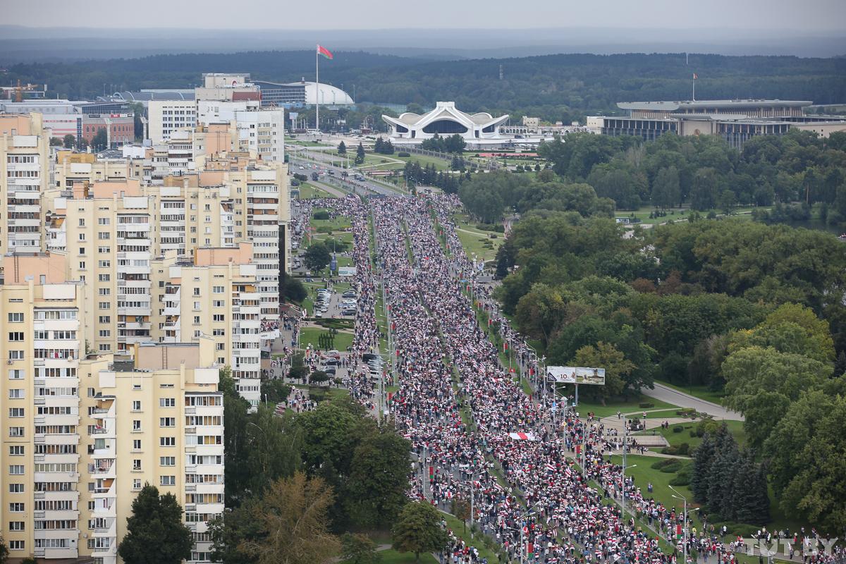 марш єдності у мінську