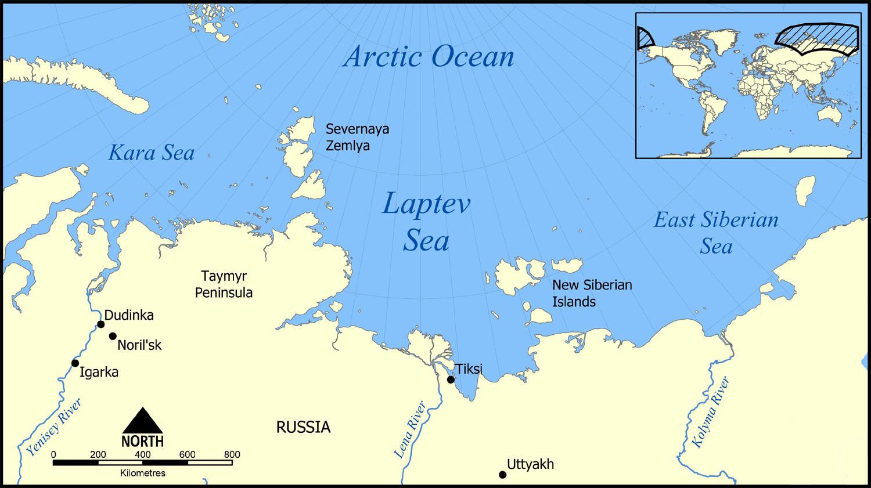 Море Лаптєвих