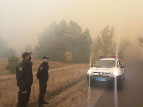 пожары луганская область