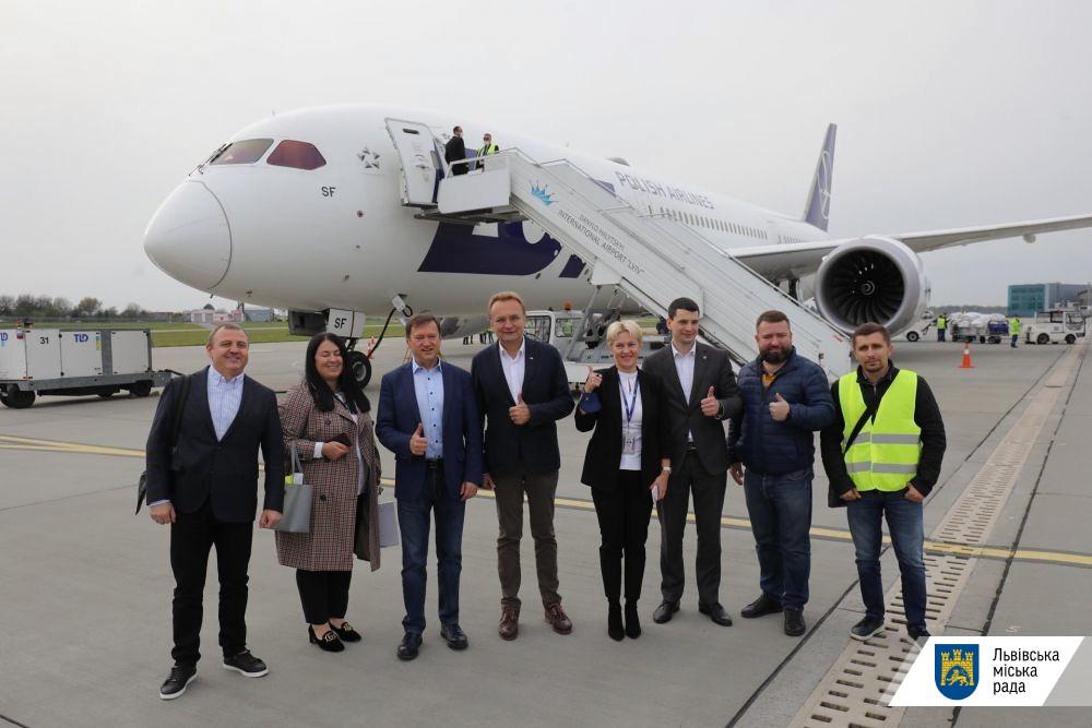 Зі Львова запустили авіадоставку відправлень зі США в Україну