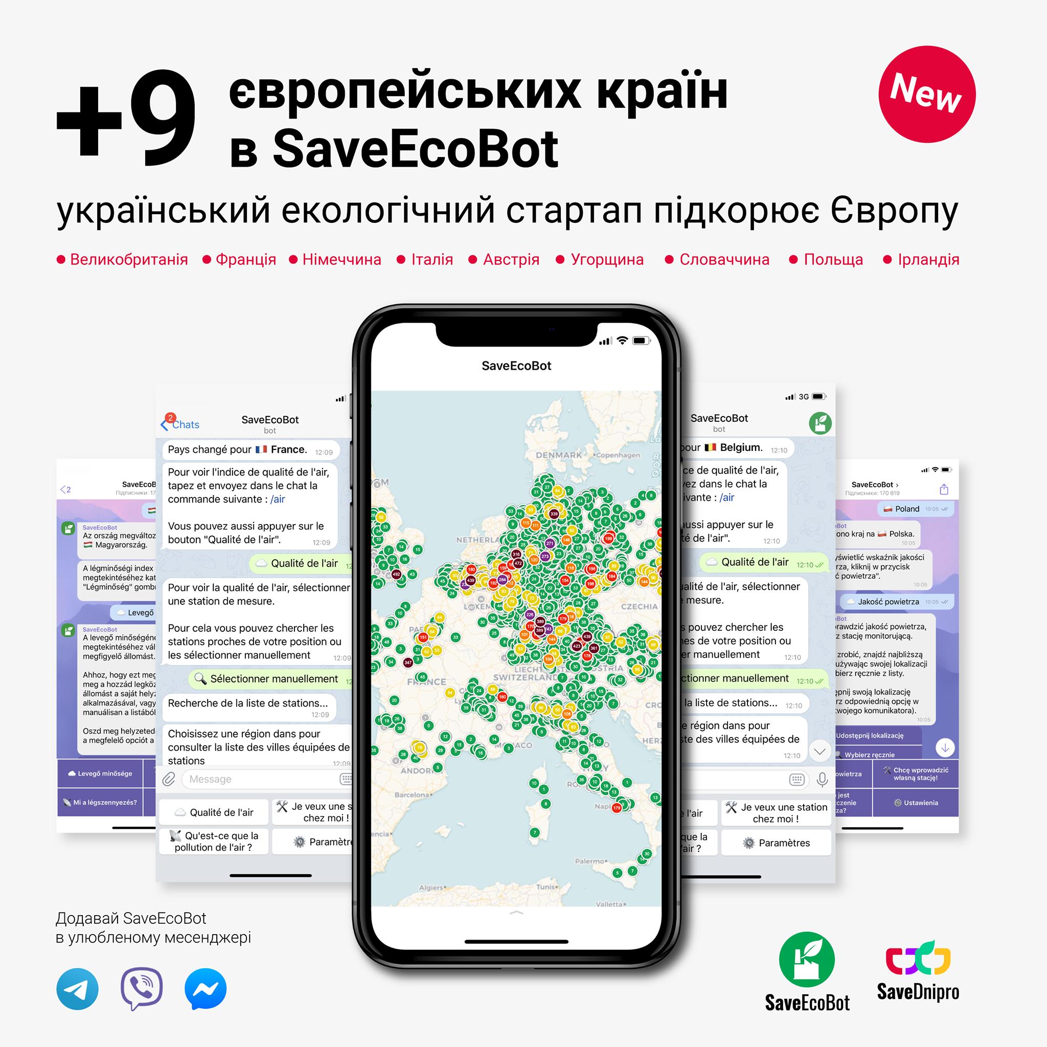 Український екологічний стартап запустився в 9 європейських країнах