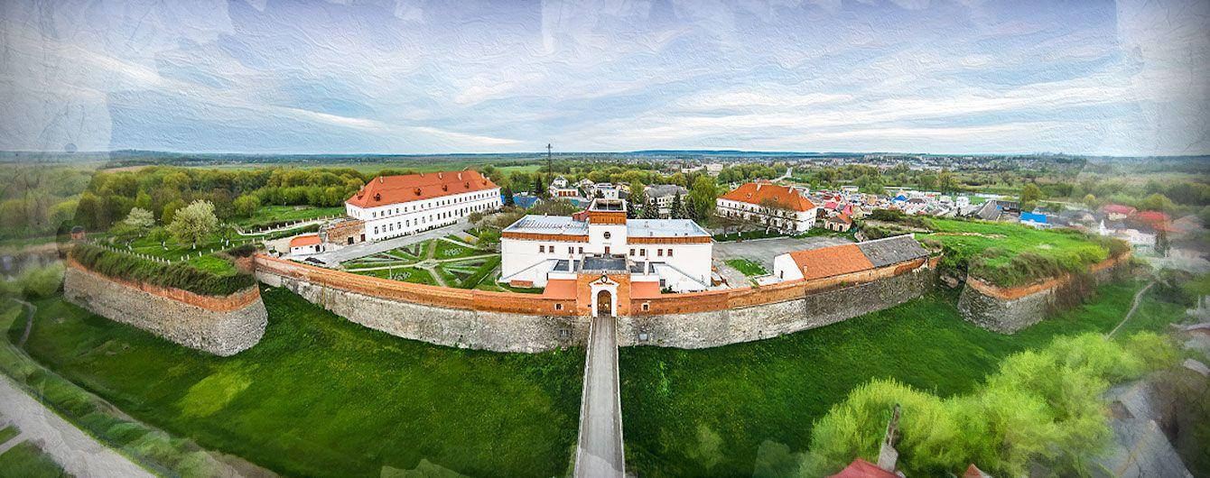 Замок у місті Дубно