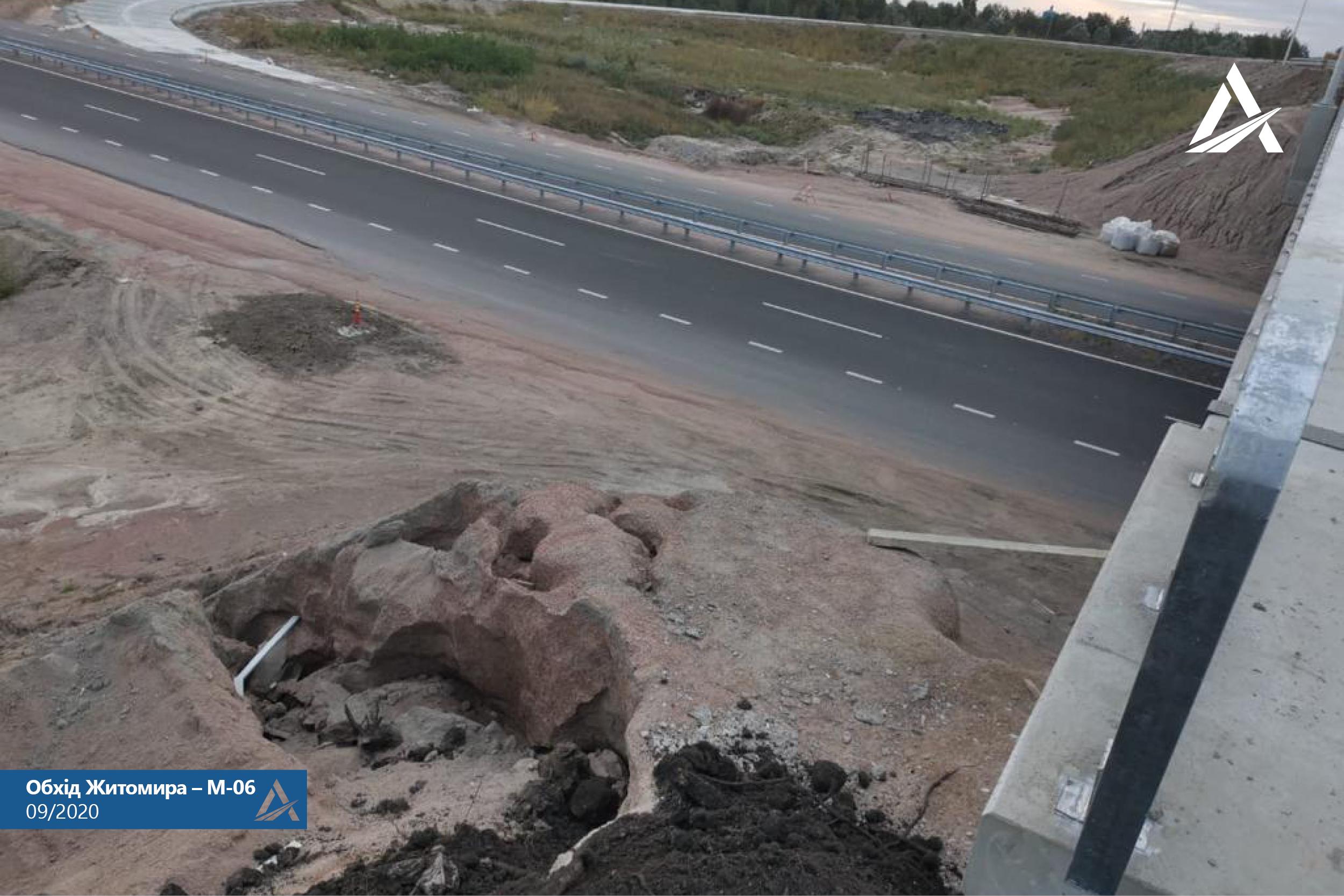 Укравтодор заявив про розірвання контракту з китайським підрядником, який ремонтував дорогу в обхід Житомира