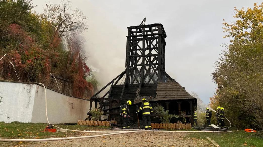 У Празі згоріла українська церква XVII сторіччя
