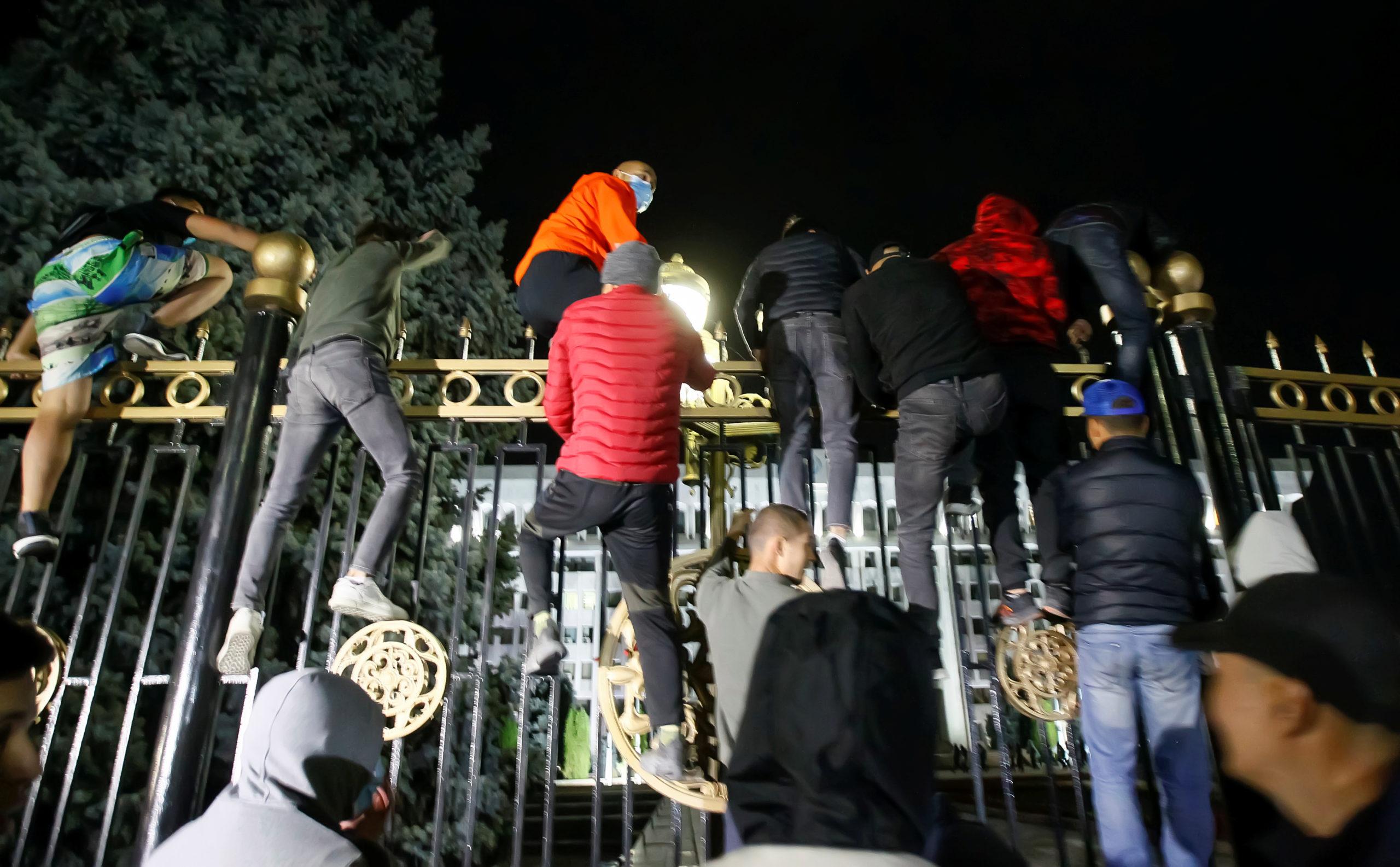 протести Киргизстан